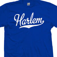 Harlem Script Tail T-Shirt - All Star Sports Team Jersey Tee - All Size & Colors