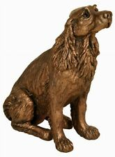 Winston the Springer Spaniel - cold cast bronze sculpture