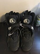 Air Jordan 8 VIII Retro Chrome Black White Graphite 305381-003 US Men Size 9