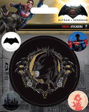 BATMAN AUFKLEBER SET / VINYL STICKER BUNDLE # 3 - vs. SUPERMAN