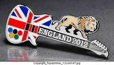 Sports Memorabilia silver The Best Olympic Pins 2012 London England Uk 3d Guitar Heraldic Lion Logo