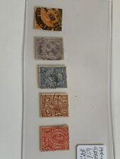 1911 Great Britain Stamp Lot U