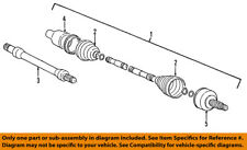 FORD OEM-Front Shaft F8RZ3B437BC