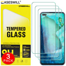 For OnePlus Nord Caseswill Premium HD-Clear Tempered Glass Screen Protector X3