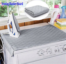 Table Top Folding Portable Caravan Travel Ironing Blanket Board Cover Mat SP