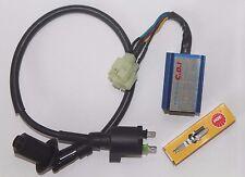Performance Ignition Coil CDI box Spark Plug NGK GY6 50cc 125c 150cc Scooter ATV