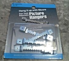 Moore Sawtooth Adjustable Picture Hangers No.21 4/Pk