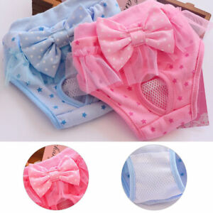 Pet Female Dog Physiological Sanitary Nappy Pant Diaper Shorts Underwear Comfort