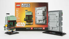 Lego Brickheadz Star Wars 41498 Boba Fett & Han Solo in Carbonite NYCC 2017 NIB