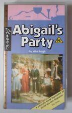 ABIGAIL'S PARTY VIDEO VHS MIKE LEIGH ALISON STEADMAN TIM STERN 1984 103 MINS