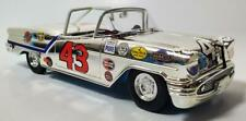 RARE SILVER CHROME RC2 1/24 RICHARD PETTY #43 1957 OLDS CONVERTIBLE #30/72