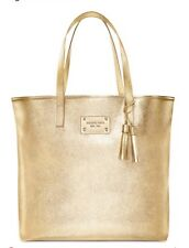 NEW MICHAEL KORS GOLD TOTE  WOMENS HAND BAG