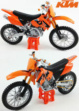 Motos miniatures orange Maisto