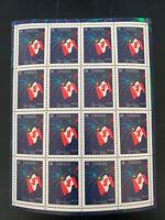 Canada Scott #1278 Canadian Flag Small & Full Pane CV $30 MNH
