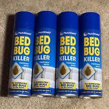 More details for pestshield bed bug killer - pack of 4 x 200ml aerosols.