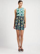 Missoni Silk Hawain Print Dress Sz 8 44 NWT $695 Authentic! Italy