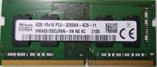 Memoria RAM SK hynix Notebook SoDimm DDR4 4 Gb 3200 MHz PC4 25600 CL22 1.2V