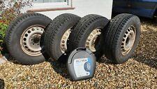 Set of winter tyres for Sprinter / Crafter 235/65R16C Mercedes VW van camper ski