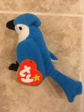 McDonald's Teenie Beanie Baby Rocket the Blue Jay #5 Happy Meal Toy 1993 Vintage
