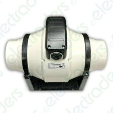 Addvent AVCIMF100T In-Line Mixed Flow Extractor Fan 100mm / 4 inch (Timer Model)
