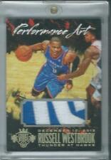 2014-15 Panini Court Kings Performance Art Prime Russell Westbrook /25