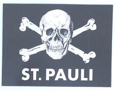 FC St. Pauli Aufkleber Sticker Schwarz Logo Fussball #306