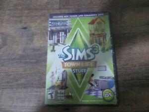 Sims 3 Town Life Stuff Brand New Sealed (Windows/Mac, 2011)