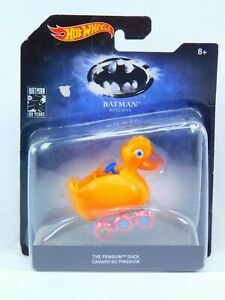 "Batman Returns Hot Wheels ""The Penguin"" Duck New Sealed Batman 80 Years Edition"
