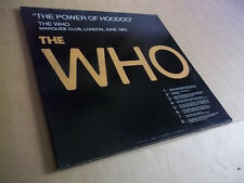 THE WHO  - THE POWER OF HOODOO rare live 4 LPs Not Tmoq NM