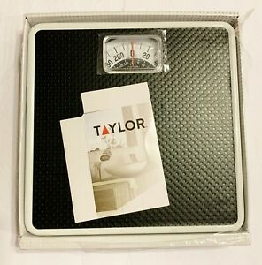 Taylor America's Leading Mechanical Rotating Analog Dial Bath Scale 2020BT-300lb