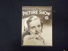 1934 DECEMBER 1 PICTURE SHOW MOVIE MAGAZINE - EVELYN LAYE - ST 2473