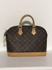 Authentic  LOUIS VUITTON  Alma Handbag  PM -SATCHEL BAG  - MONOGRAM LOGO