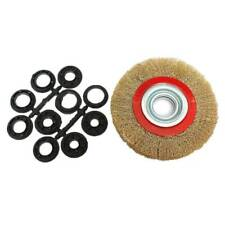 Bench Grinder Wire Wheel In Metalworking Abrasive Brushes For Sale In Stock Ebay