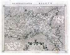 Antique map, Neapolitanum Regnum
