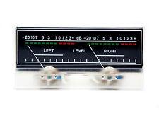 1pc SD-319 Panel 2 VU Meter 500uA 680Ω 115x54mm with 12V Bulb lamp SD FlashStar