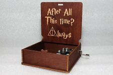 After All This Time? Always Severus Snape - Harry Potter Music Box - Hand Crank