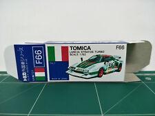 REPRODUCTION BOX for Tomica Blue Box No.F66 Lancia Stratos Turbo