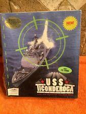 Vintage Mindscape USS TICONDEROGA Big Box PC Game IBM 1994 NEW SEALED Rare