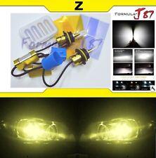 LED Kit Z 96W 9004 HB1 3000K Yellow Headlight Two Bulbs  High Low Beam Upgrade