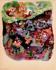 Disney Alice In Wonderland 1951 Litho Prototype RKO Radio Pictures Stamped COA
