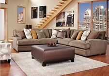 New Cindy Crawford Home 8 Pc Sectional Living Room Set