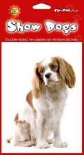 Cavalier King Charles Spaniel Double Sided Sticker Perfect Gift