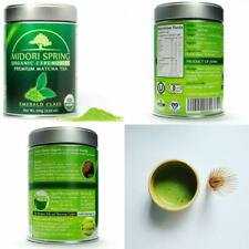 Organic Ceremonial Matcha (Emerald Class 100g) Chef's Choice Quality Japanese Ma
