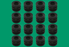 "16 Ridged Rubber Bumpers for 5/8"" Foosball Table Rods - Tournament Soccer"
