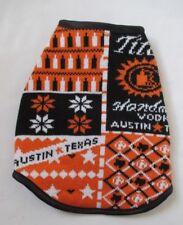 Tito's Handmade Vodka Austin Texas  Dog Sweater Coat Size Extra Small XS