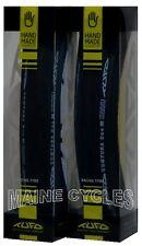 Tufo Comtura Duo clincher 700 x 25 all black 2 tires (1 pair)