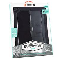 "Genuine Griffin Survivor Slim Rugged Tough Case iPad Air 2 & iPad Pro 9.7"""