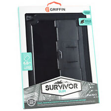 Genuine Griffin Survivor Slim Rugged Tough Case Cover For iPad Air 2 with Stand