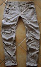 G-STAR Jeans | Arc 3D Slim Coj - Wornout Used Beige / Creme GStar Raw W36/L32 XL