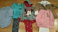Girl's Lot of 4 size 24M outfits/coat Baby Guess, Minnie, Nanette, Little Lass
